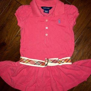 Toddler girls Ralph Lauren dress w/belt (EWC)